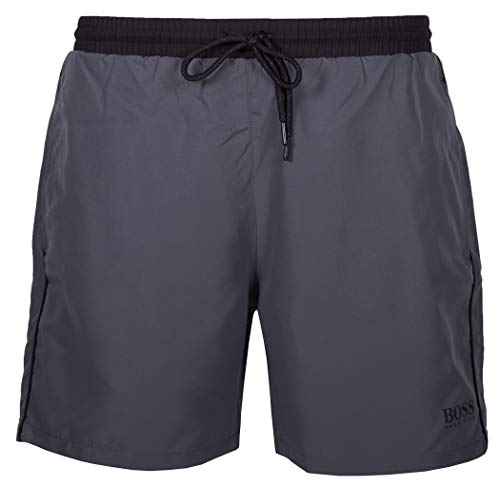 BOSS Herren Starfish Badehose, Open Grey78, XL