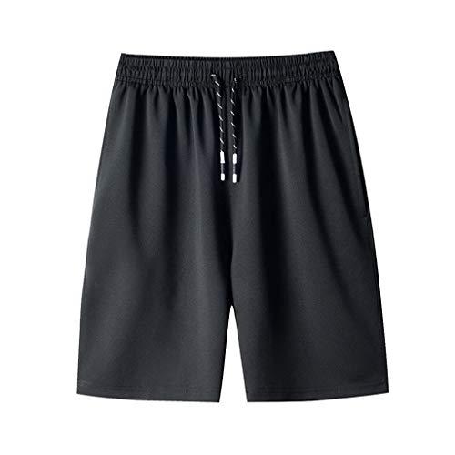 SSUPLYMY Strandhose Freizeitsport Kurze Hosen Jogginghose Bermuda Shorts Badehose, Herren Sommer Casual DüNne Schnell Trocknende Strandhose PantsRegular Casual Sport Short
