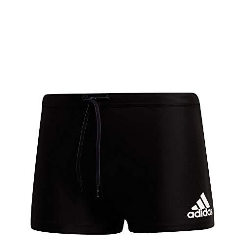 adidas Fitness Logo Swim Boxer - Boxer Badehose - DQ3128 schwarz, Größe:8