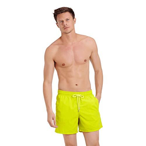 Vilebrequin - Solid Badehose für Herren - Grün - XL