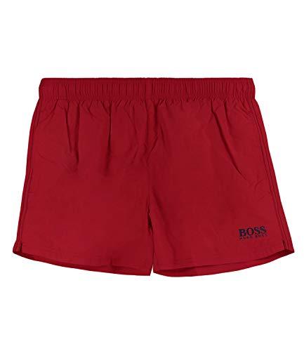 BOSS Herren Perch Badehose, Rot (Bright Red 621), Medium (Herstellergröße: M)