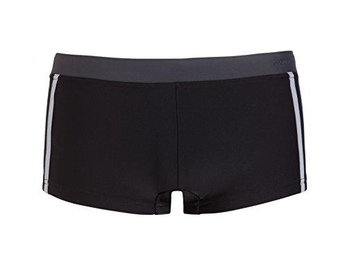 Jockey Herren Beachwear Badeshorts 60424 Sport-Trunk (M, Schwarz 999)