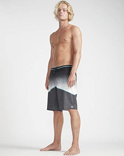BILLABONG Herren Badeshorts North Point PRO, Black, 32, N1BS11 BIP9 19