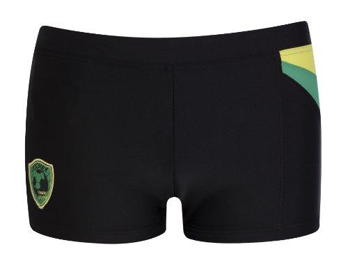 Jockey Herren Badehose Sport Trunk Shorts Tasche gefüttert International Collection, Farbe:Black;Grösse:L
