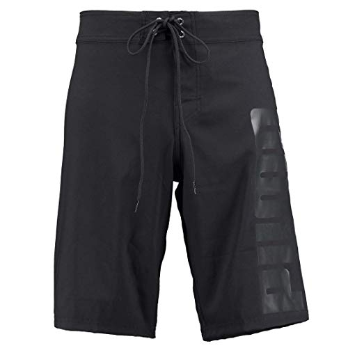 PUMA Herren Lange Badehose Badeshorts Long Board Swim Shorts, Farbe:Black, Bekleidungsgröße:XXL
