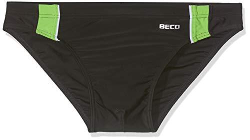 Beco Beermann GmbH & Co. KG Jungen Badehose, schwarz/Kiwi, 152