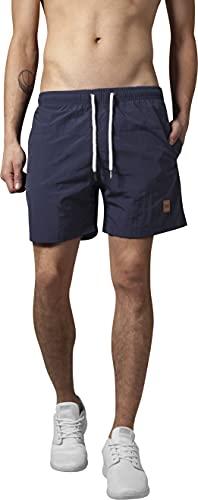 Urban Classics Herren Badehose Block Swim Shorts Navy, XL
