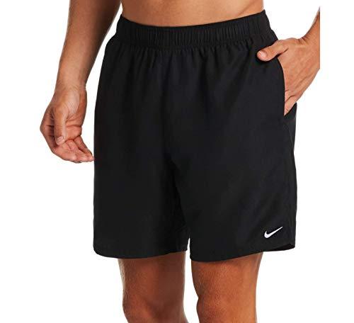 Nike 7 Volley Badeshorts für Herren, Schwarz, XL