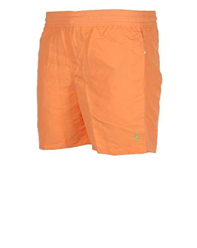 Ralph Lauren Badeshort Hawaiian Boxer Orange (L)