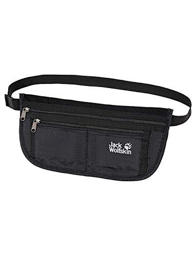 Jack Wolfskin Unisex Hüfttasche De Luxe, black, 13 x 26,5 cm, 84370-60