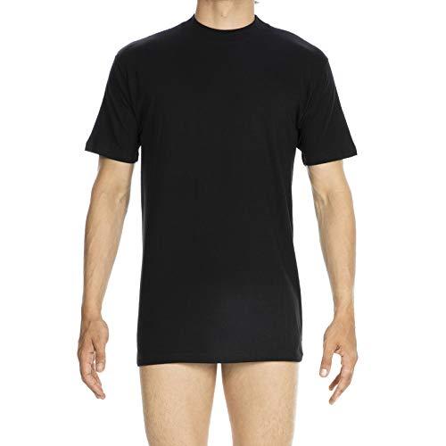 HOM - Herren - T-Shirt Rundhals 'Harro New' - Schwarz - Grösse M