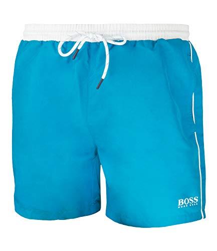 BOSS Herren Starfish Shorts, Türkis (Turquoise/Aqua 441), L EU