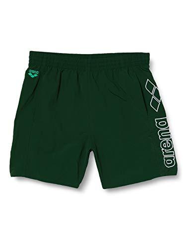 ARENA Herren Badehose Boxer Berryn Badeshort, Wood Green-Lime-White, L