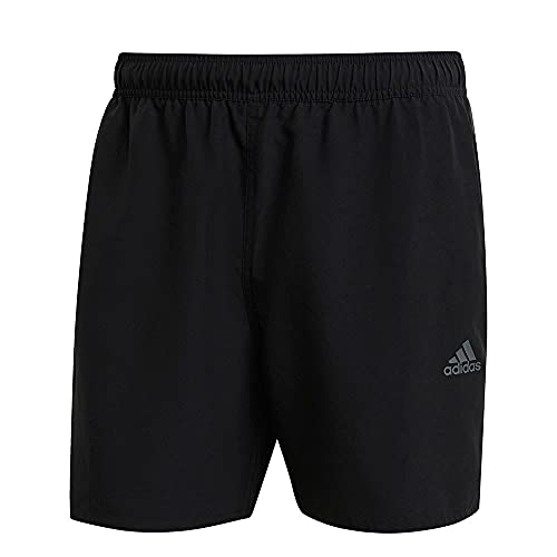 adidas GM2243 BOS3S CLX SH SL Swimsuit Mens Black/Grey six L