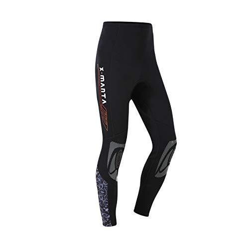 Owntop Neoprenhose für Männer Frauen und Jugend - 3MM Tauchhose, Thermo Tauchanzug Hosen, Erwachsene Wetsuits Pants Sonnenschutz UV 50+ Badeanzüge, XL