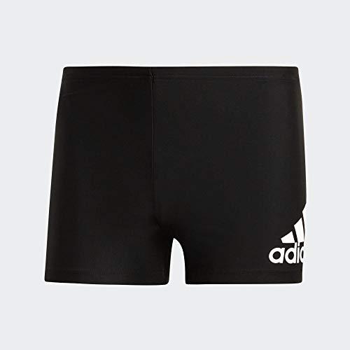adidas Herren Badeanzug FIT BX BOS, Negro/Blanco, 5, DY5078