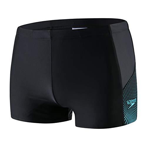 Speedo Herren Dive Aqua Shorts Dive, Schwarz (Boom Blk/Aqua Splash/Oxid), Gr. 6