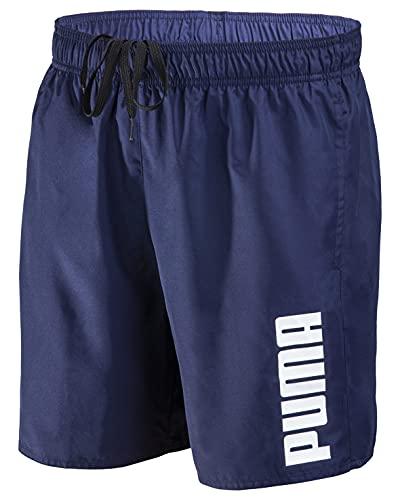 PUMA Herren Badehose Badeshorts Summer Deluxe Swim Shorts - New Navy - Gr. XL
