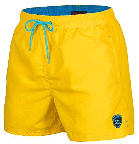 Zagano Adam Lipski Herren Badeshort, 5106, Yellow, Gr. XL