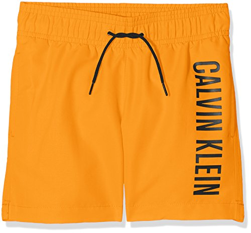 Calvin Klein Jungen B70b700029 Badehose, Orange (Orange Popsicle 17-1350 801), 146 (Herstellergröße: 10-12)