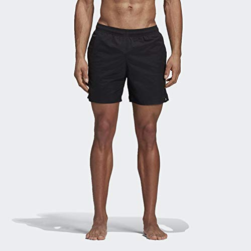 adidas Herren SOLID SH SL Swimsuit, Black, M