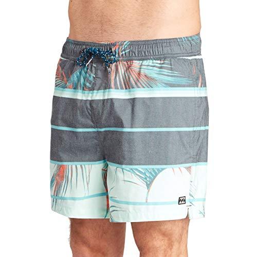 Billabong Herren Spinner Layback 16 Shorts, Charcoal, L