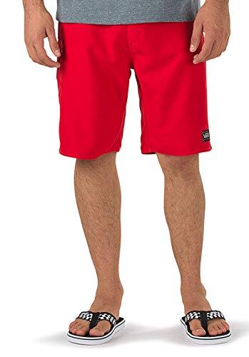 Vans Herren Classic SOLID Boardshort II Badeshorts, Rot (Racing Red), XXXXXX-Large (Herstellergröße: 30)