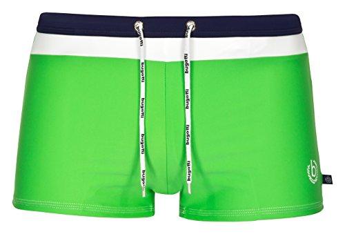 bugatti® - Herren Badehose / Badepants in grün, Größe XL(Herstellergröße: 7)