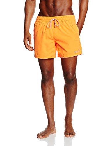 Brunotti Herren Badehose Crunot Shorts NOOS, Neon Orange, M