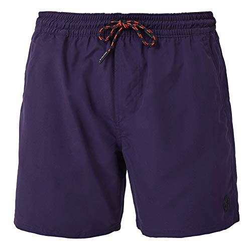 s.Oliver Badeshorts, Badehose, Schwimmhose, Bermuda (XL, violett)