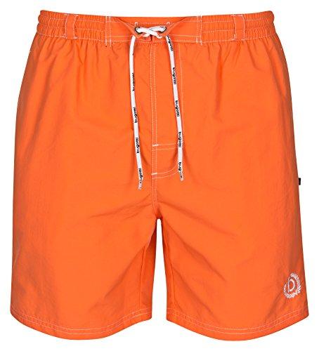 Bugatti® - Herren Badeshort in orange, Größe L 428359