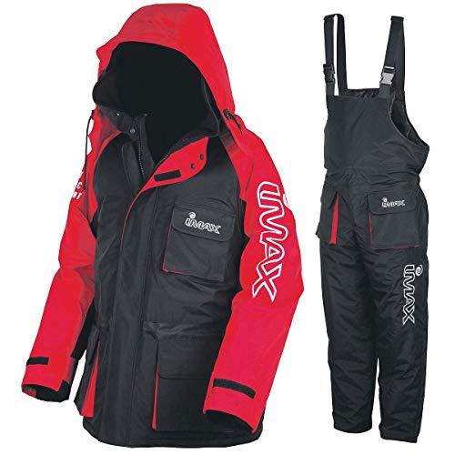 Imax Thermo Anzug Sea Fishing Clothing (2teilig), Mehrfarbig (schwarz/rot), Gr. XL