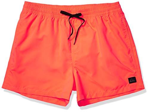 Quiksilver Herren Everyday Volley 15 Swim Trunk Boardshorts, Fiery Coral, Large
