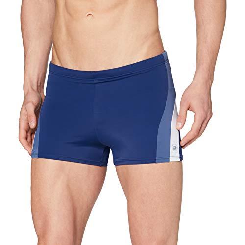 Schiesser Herren Bade-Retro Shorts, Blau (Navy 815), X-Large (Herstellergröße: 007)