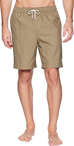 Fred Perry Herren Textured Swimshort Shorts, olivgrün, Klein