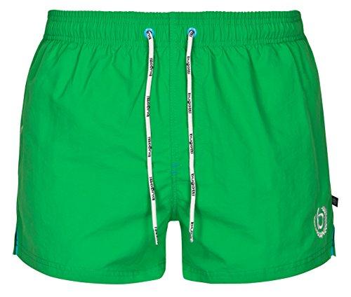 bugatti Kurze Herren Badeshorts in grün Größe XL