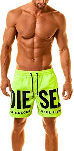 Diesel Herren Designer Badeshort (X-Large, Mehrfarbig)