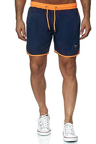 Kayhan Swimwear Sport Navy Neon Orange L