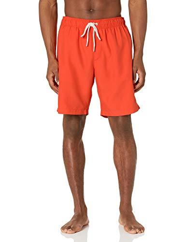 Amazon Essentials fashion-swim-trunks, Orange, US L (EU L)