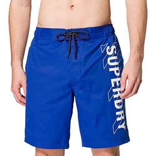 Superdry Mens Classic 19 INCH Board Shorts, Racer Cobalt, XL