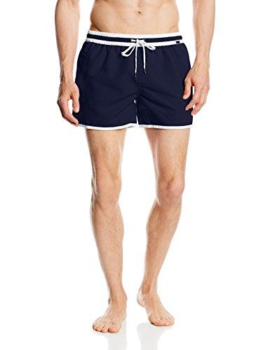 Skiny Herren Mix Shorts Badeshorts, navy, L