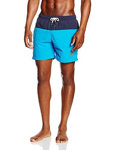 Urban Classics Herren Badehose Block Swim Shorts nvy/tur M