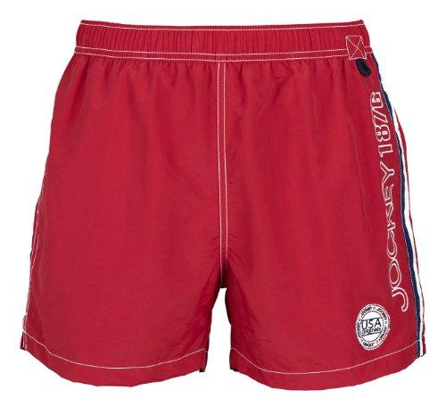 Jockey Short Groesse 8(2XL), Farbe A-Red