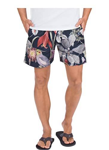 Trigema Herren 60339018 Shorts, Navy/bunt, 5XL