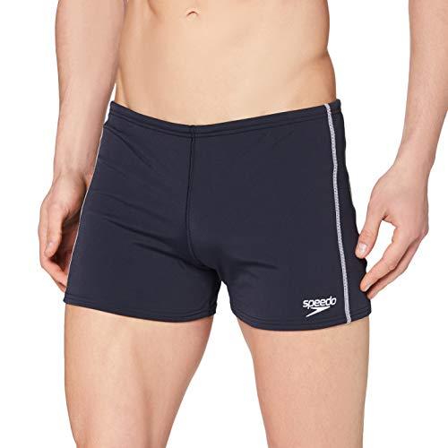 Speedo Herren Badehose Essential Classic Aquashorts Swimwear, Marineblau, 38 (DE 7)