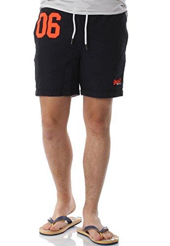 Superdry Herren M30001PQF2 Shorts, Blau (Darkest Navy), Medium