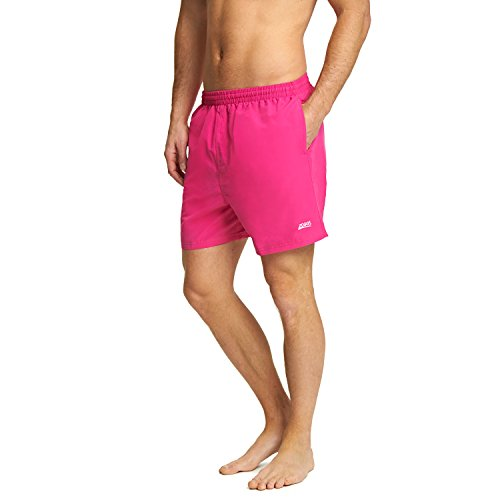 Zoggs Herren Penrith Shorts, Rose, M