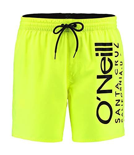 O'Neill Herren PM Original Cali Boardshorts, New Safety Yellow, M