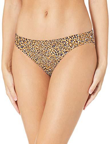 Seafolly Damen Spirit Animal Hipster Bikinihose, Mehrfarbig (Saffron Saffron), 38 (Herstellergröße: 12)