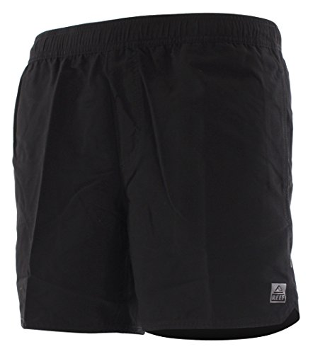 Reef Herren Badehose Blended Volley, Black, L